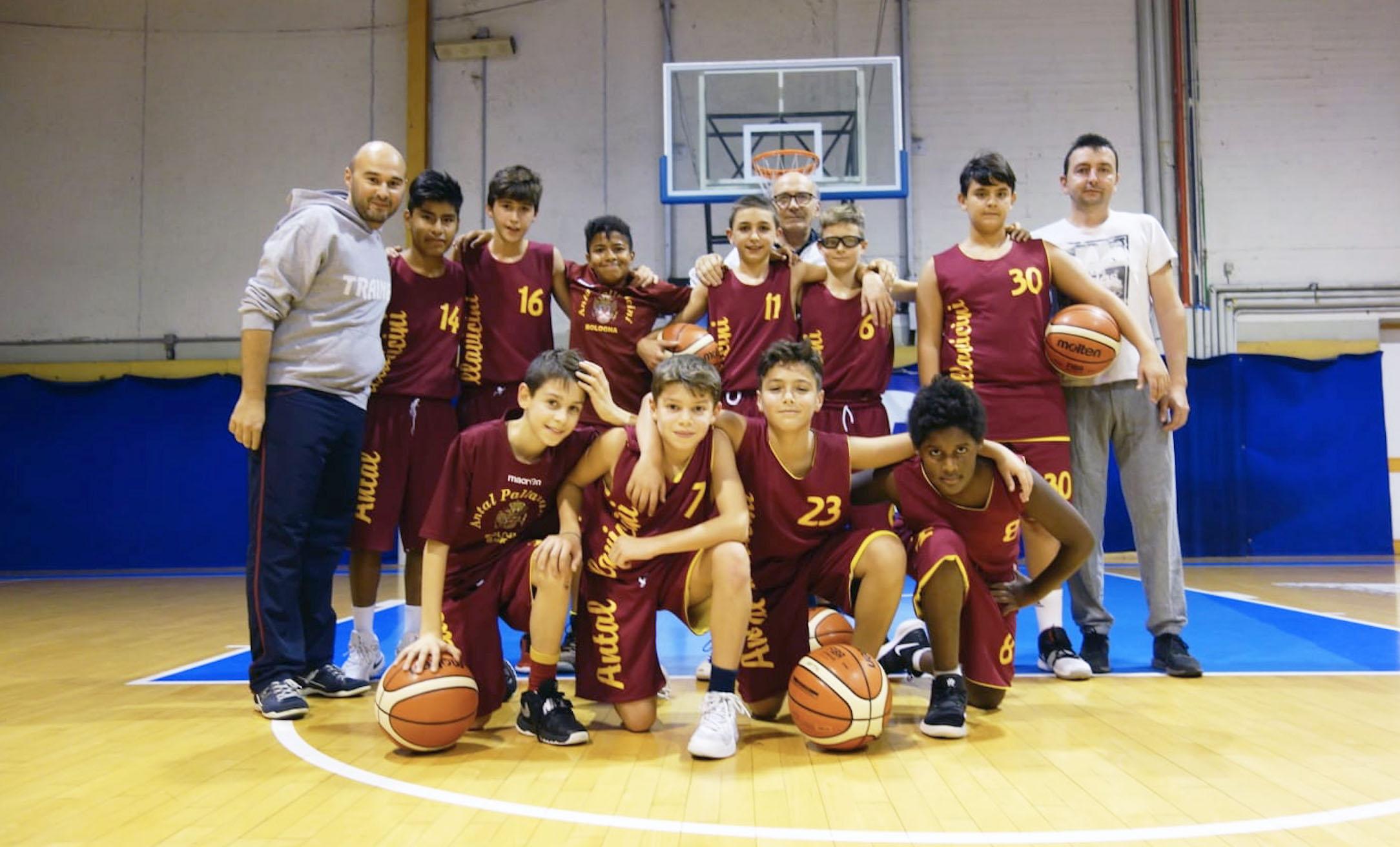 Pallacanestro Under 14 - Antal Pallavicini